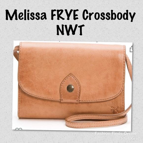 Frye Handbags - Frye NWT Melissa crossbody Wallet
